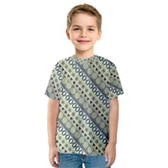 Abstract Seamless Pattern Kids  Sport Mesh Tee