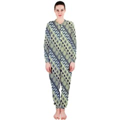 Abstract Seamless Pattern Onepiece Jumpsuit (ladies)