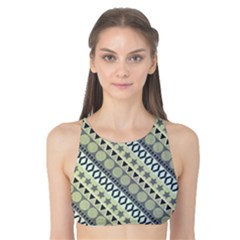 Abstract Seamless Pattern Tank Bikini Top