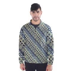 Abstract Seamless Pattern Wind Breaker (men)