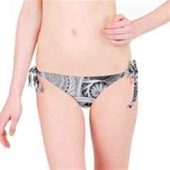 Fractal Wallpaper Black N White Chaos Bikini Bottom