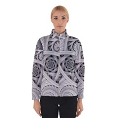 Fractal Wallpaper Black N White Chaos Winterwear