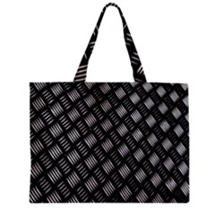 Abstract Of Metal Plate With Lines Mini Tote Bag