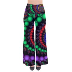Fractal Background With High Quality Spiral Of Balls On Black Pants