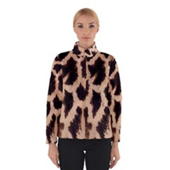 Yellow And Brown Spots On Giraffe Skin Texture Winterwear