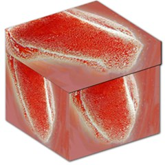 Red Pepper And Bubbles Storage Stool 12