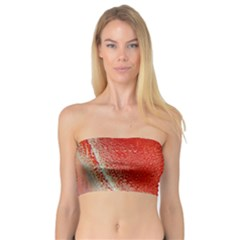 Red Pepper And Bubbles Bandeau Top