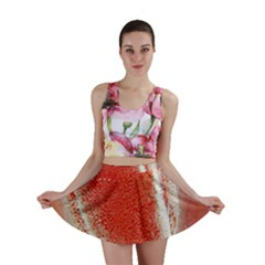 Red Pepper And Bubbles Mini Skirt
