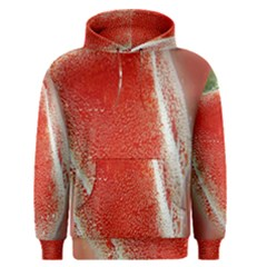 Red Pepper And Bubbles Men s Pullover Hoodie