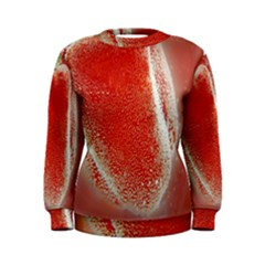 Red Pepper And Bubbles Women s Sweatshirt