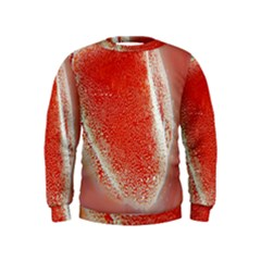Red Pepper And Bubbles Kids  Sweatshirt