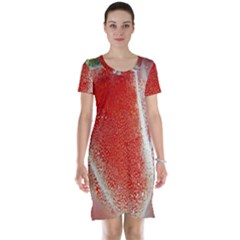 Red Pepper And Bubbles Short Sleeve Nightdress