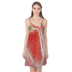 Red Pepper And Bubbles Camis Nightgown
