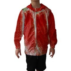 Red Pepper And Bubbles Hooded Wind Breaker (Kids)