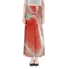 Red Pepper And Bubbles Maxi Skirts