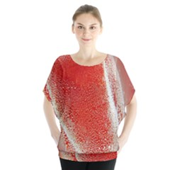 Red Pepper And Bubbles Blouse
