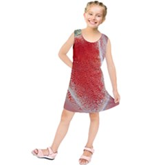 Red Pepper And Bubbles Kids  Tunic Dress