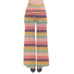 Abstract Vintage Lines Background Pattern Pants