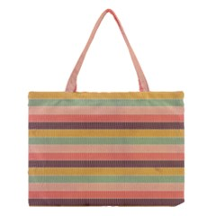 Abstract Vintage Lines Background Pattern Medium Tote Bag