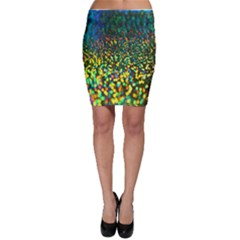 Construction Paper Iridescent Bodycon Skirt