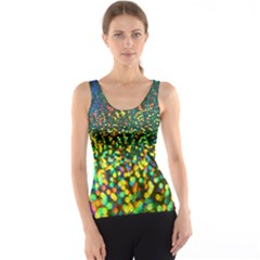 Construction Paper Iridescent Tank Top