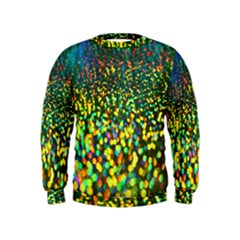 Construction Paper Iridescent Kids  Sweatshirt