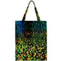 Construction Paper Iridescent Zipper Classic Tote Bag View1