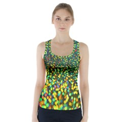 Construction Paper Iridescent Racer Back Sports Top