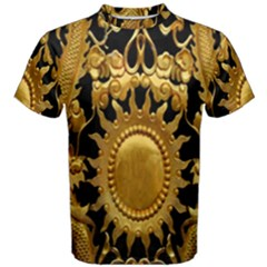 Golden Sun Men s Cotton Tee