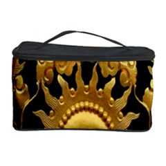 Golden Sun Cosmetic Storage Case