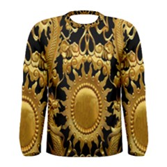 Golden Sun Men s Long Sleeve Tee