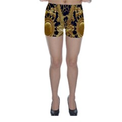 Golden Sun Skinny Shorts