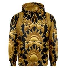 Golden Sun Men s Pullover Hoodie
