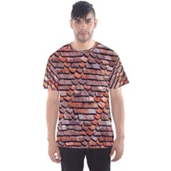 Roof Tiles On A Country House Men s Sport Mesh Tee