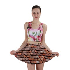 Roof Tiles On A Country House Mini Skirt