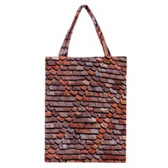 Roof Tiles On A Country House Classic Tote Bag