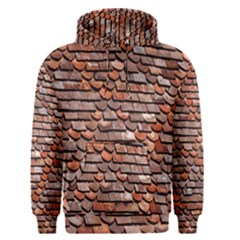 Roof Tiles On A Country House Men s Pullover Hoodie