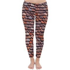 Roof Tiles On A Country House Classic Winter Leggings