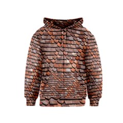 Roof Tiles On A Country House Kids  Zipper Hoodie