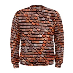 Roof Tiles On A Country House Men s Sweatshirt
