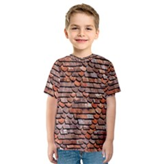 Roof Tiles On A Country House Kids  Sport Mesh Tee