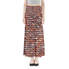 Roof Tiles On A Country House Maxi Skirts