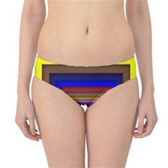 Square Abstract Geometric Art Hipster Bikini Bottoms