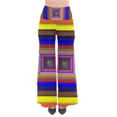 Square Abstract Geometric Art Pants