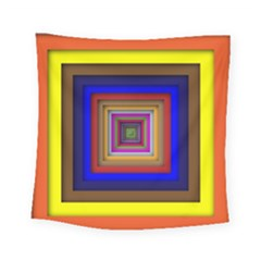 Square Abstract Geometric Art Square Tapestry (small)