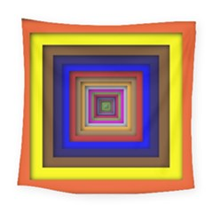 Square Abstract Geometric Art Square Tapestry (large)