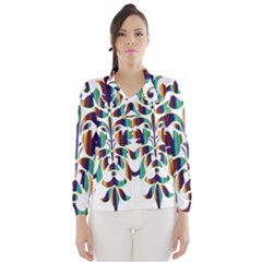 Damask Decorative Ornamental Wind Breaker (women)