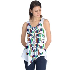 Damask Decorative Ornamental Sleeveless Tunic