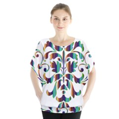 Damask Decorative Ornamental Blouse