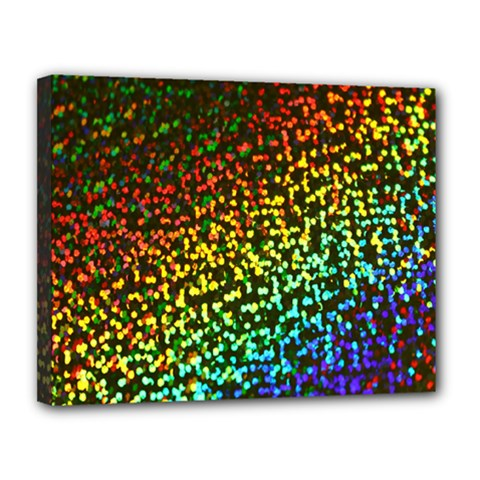 Construction Paper Iridescent Canvas 14  X 11